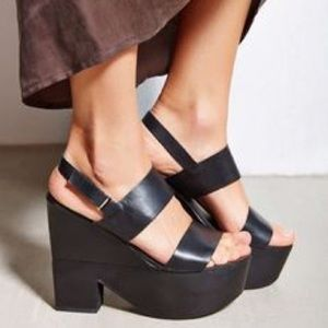 Platform wedge Shelly's London x Free People
